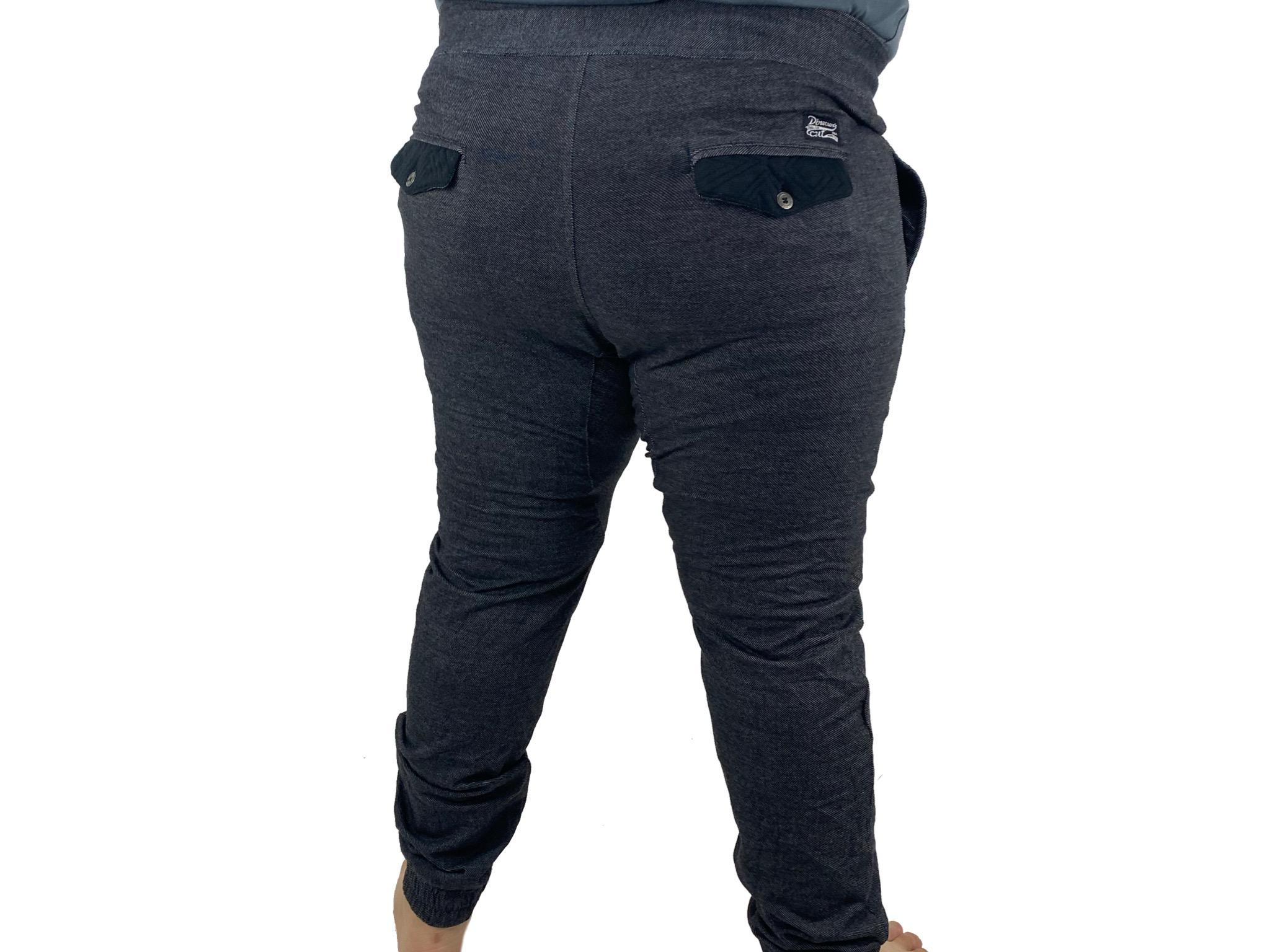 Pantalon Jogger Hombre Gris Con Negro Directors Cut Nuevo Dto Store
